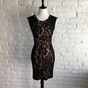 Black lace Wyatt dress